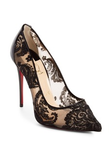 Christian Louboutin Follies Embellished Pointy Toe Pump (Women)