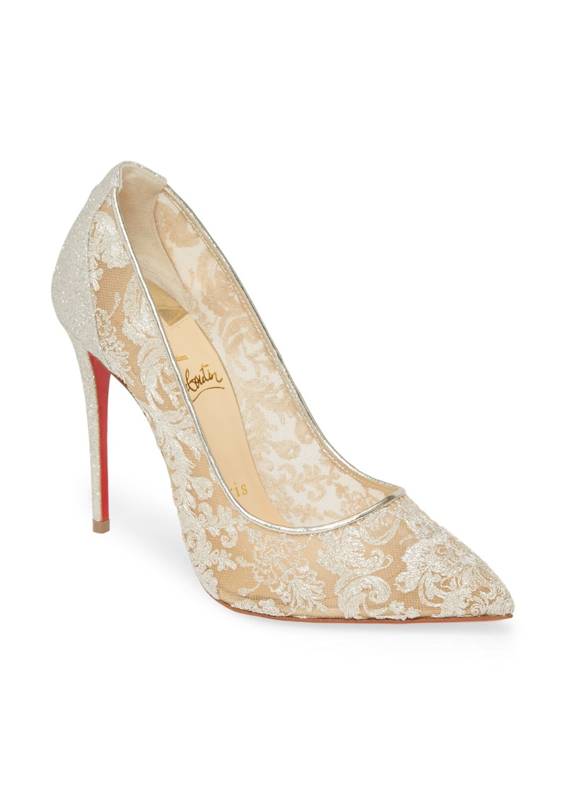 Christian Louboutin Follies Lace Pump (Women)