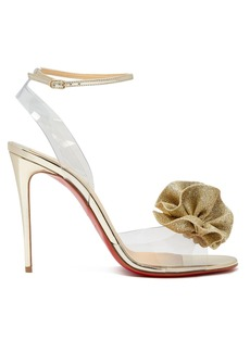 Christian Louboutin Fossiliza flower-embellished sandals