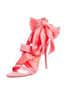 Christian Louboutin Foulard Cheville Tie Up Sandal (Women)