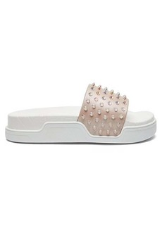 Christian Louboutin Fun Donna studded leather slides