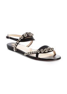 Christian Louboutin Galeria Ornament Flat Sandal (Women)