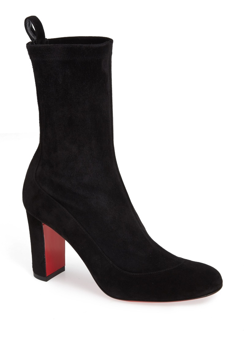 7352f0b51b0 Christian Louboutin Christian Louboutin Gena Stretch Shaft Bootie ...
