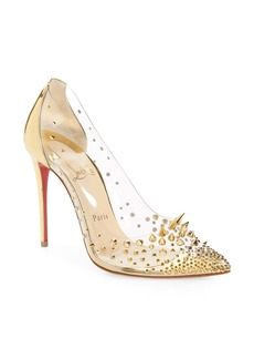 Christian Louboutin Grotika Spike Clear Pump (Women)