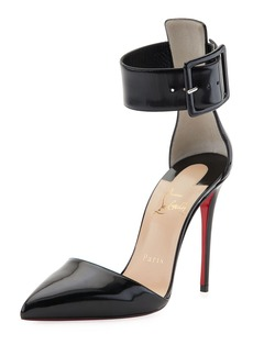 Christian Louboutin Harler d'Orsay Patent Red Sole Pump
