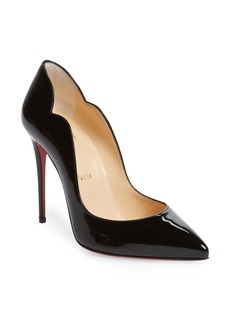 Christian Louboutin Hot Chick Scallop Pointed Toe Pump (Women)
