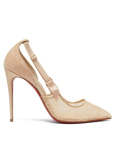 Christian Louboutin Hot Jeanbi 110 lace pumps