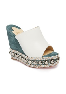 Christian Louboutin Janibasse Embellished Wedge Mule (Women)