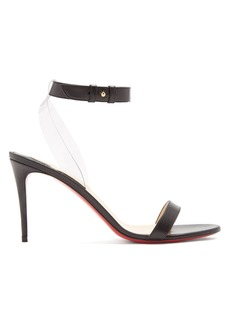 Christian Louboutin Jonatina 85 leather sandals