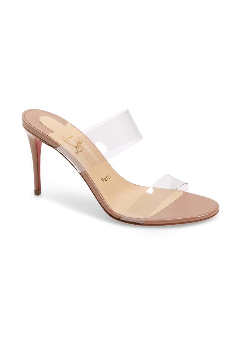 Christian Louboutin Just Nothing Slide Sandal (Women)