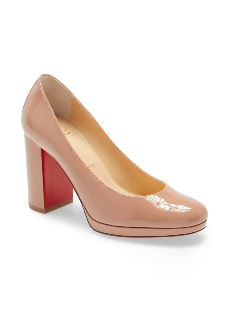 Christian Louboutin Kabetts Block Heel Pump (Women)