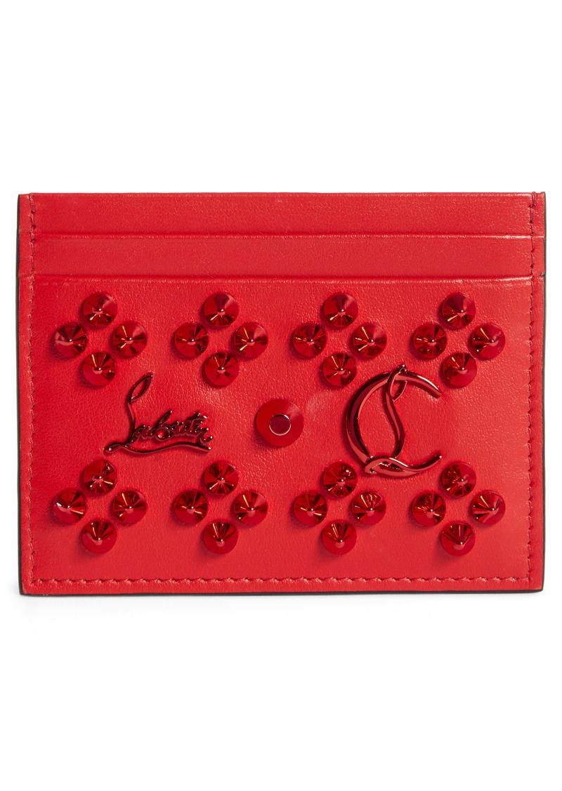 Christian Louboutin Kios Loubinthesky Leather Card Case