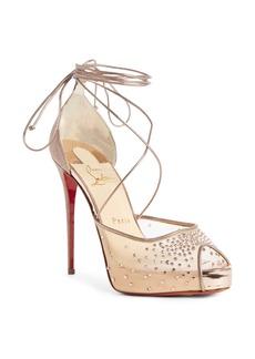 Christian Louboutin Labella Glitter Sandal (Women)
