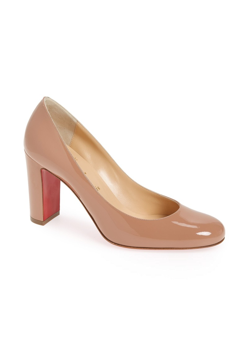 Christian Louboutin Lady Gena Round Toe Pump (Women)