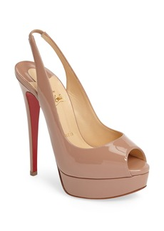 Christian Louboutin Lady Slingback Pump (Women)