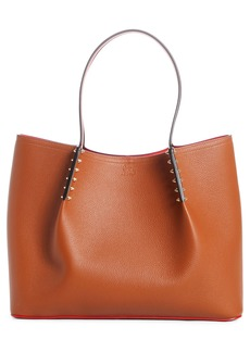 Christian Louboutin Large Cabarock Calfskin Leather Tote