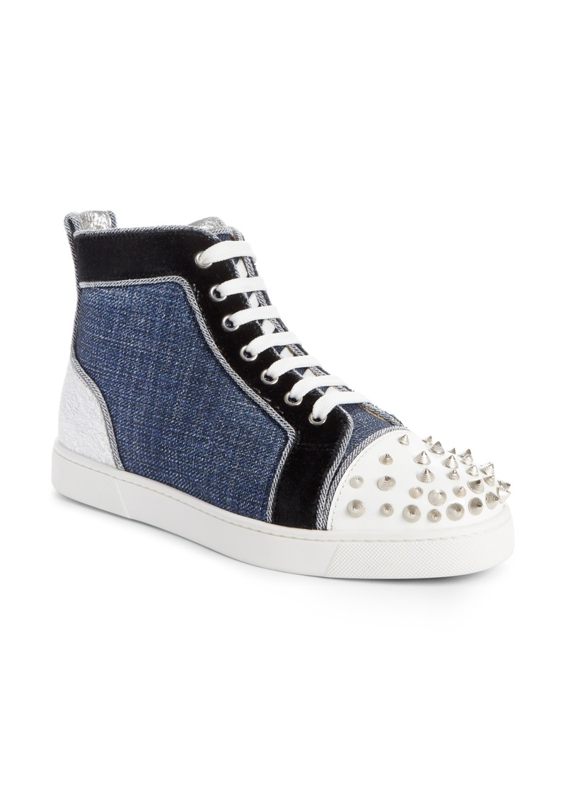 quality design 4eada 4ea96 Christian Louboutin Christian Louboutin Lou Degra Spiked High Top Sneaker  (Women) | Shoes