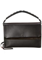 Christian Louboutin Loubiblues Leather & Suede Shoulder Bag