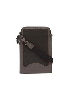 Christian Louboutin LoubiLab Techno leather & canvas cross-body bag