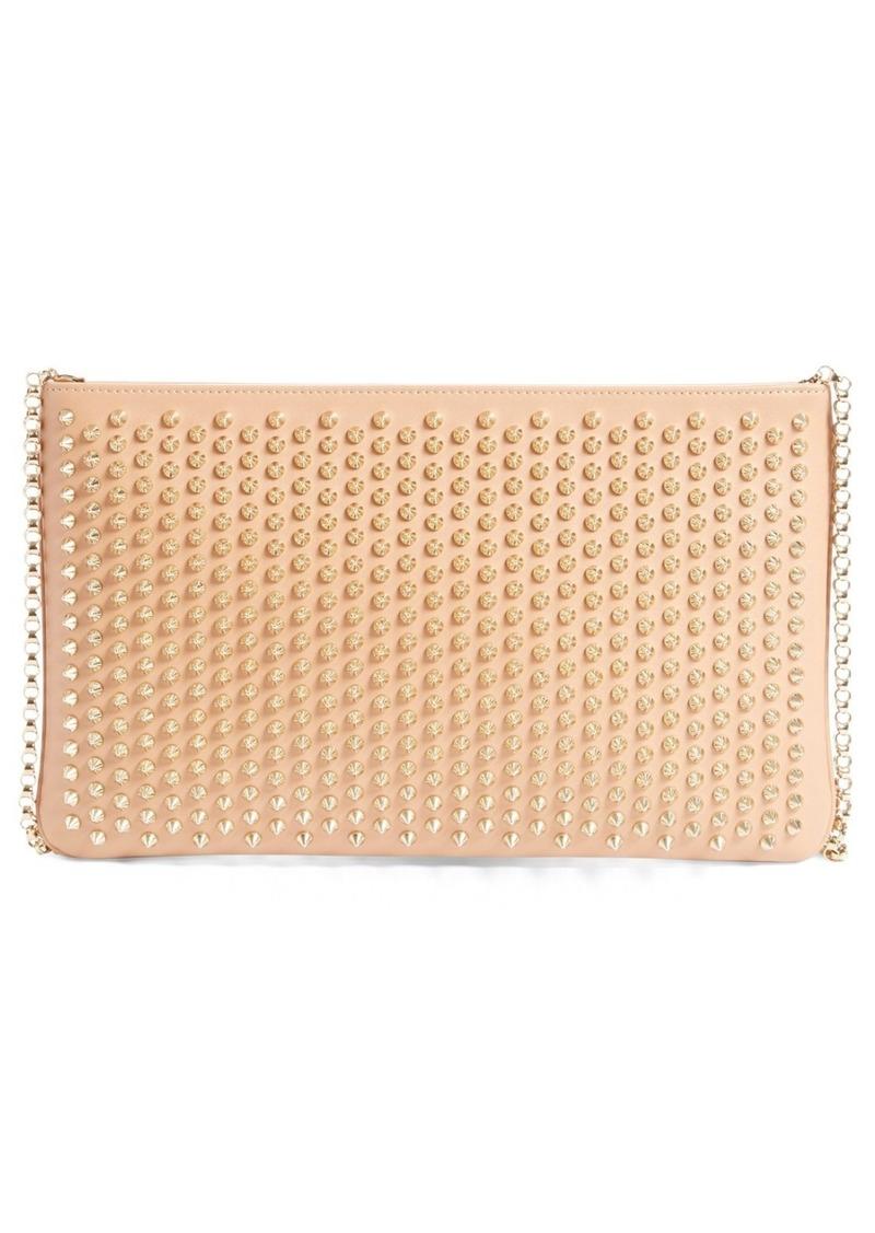 72c8712fe0a 'Loubiposh' Spiked Calfskin Shoulder Bag