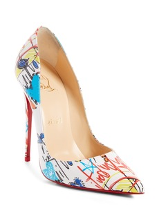 Christian Louboutin Loubitag So Kate Grafitti Pump (Women)