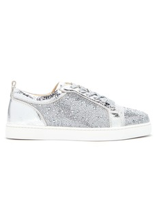 Christian Louboutin Louis Junior crystal-embellished trainers