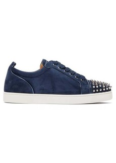 Christian Louboutin Louis Junior studded suede trainers