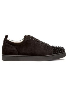 Christian Louboutin Louis Junior suede studded trainers