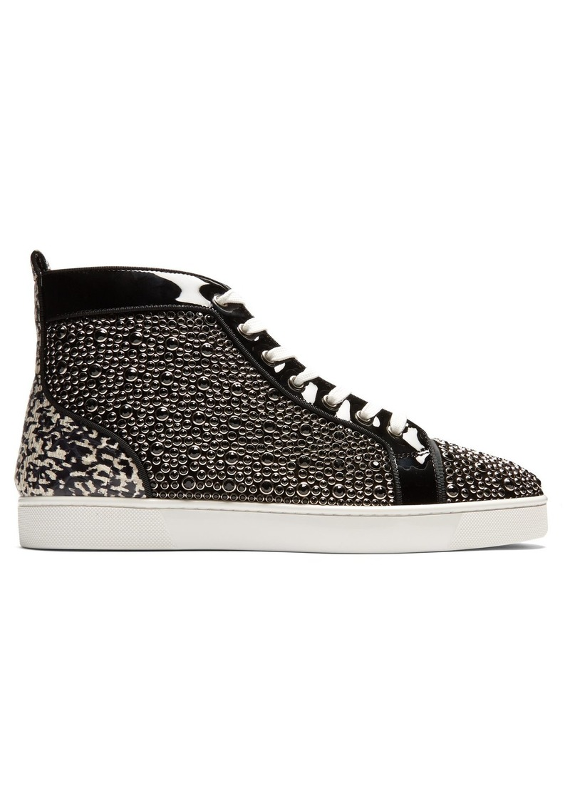 10fba9390 Christian Louboutin Christian Louboutin Louis Orlato high-top patent ...