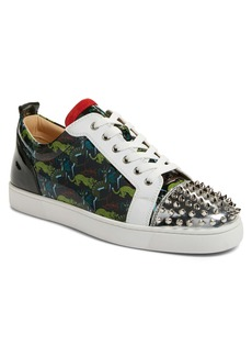 Christian Louboutin Louis Spikes Junior Low Top Sneaker (Men) (Nordstrom Exclusive Color)