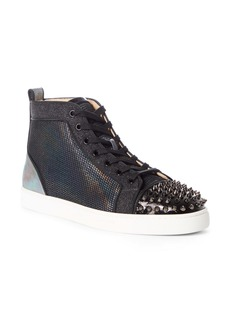 Christian Louboutin Louis Spikes Orlato High Top Sneaker (Men)