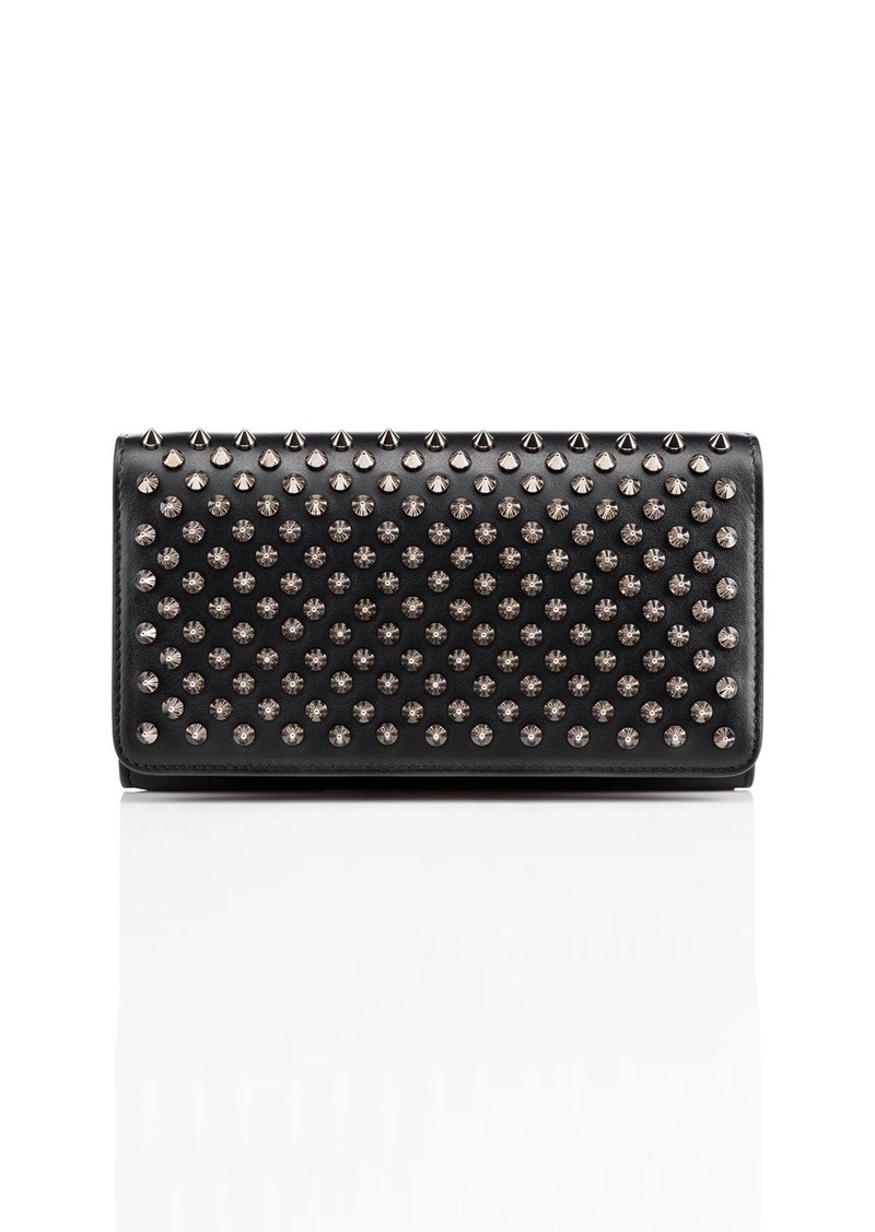 13ccc20cf15 Macaron Spiked Flap Wallet