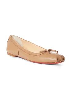 Christian Louboutin Mamadrague Square Toe Ballet Flat (Women)