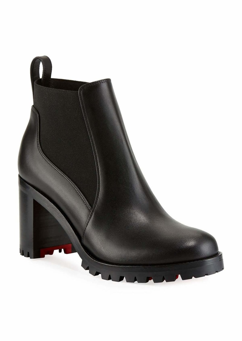 newest 00c79 13501 Marchacroche Leather Red Sole Booties