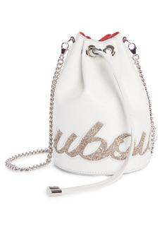 Christian Louboutin Marie Jane Calfskin Bucket Bag