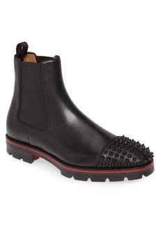 Christian Louboutin Melon Spike Chelsea Boot (Men)