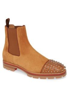 Christian Louboutin Melon Spikes Chelsea Boot (Men)