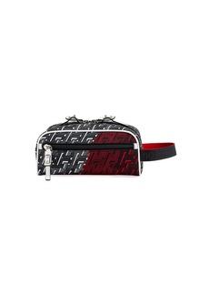 Christian Louboutin Men's Blaster Two-Tone Monogram Belt Bag