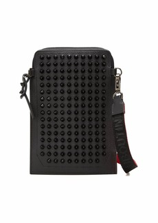 Christian Louboutin Men's Loulilab EmpireSpikes Leather Phone Pouch