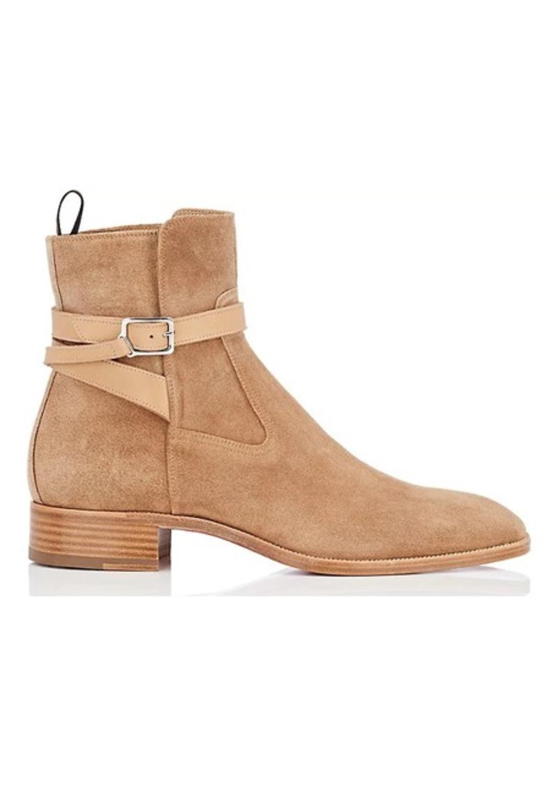 buy online 8da10 b5e72 Men's Quico Flat Suede Jodhpur Boots