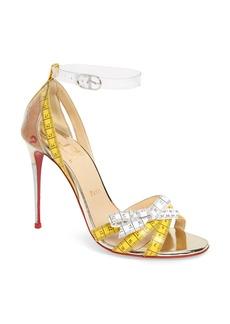 Christian Louboutin Metri Clear Ankle Strap Sandal (Women)