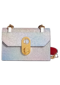 Christian Louboutin Mini Elisa Glitter Shoulder Bag