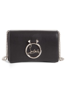 Christian Louboutin Mini Rubylou Calfskin Leather Clutch