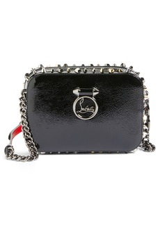 Christian Louboutin Mini Rubylou Patent Leather Crossbody Bag