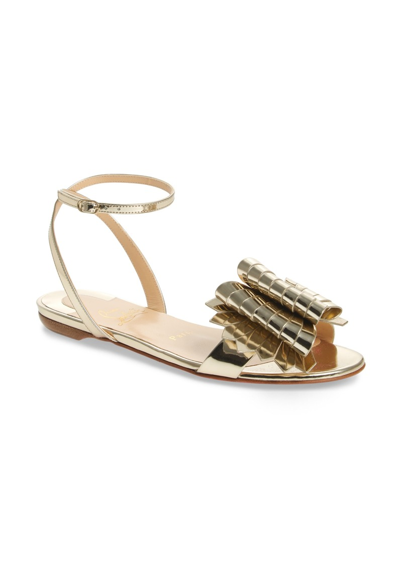 3212e4e618ca Christian Louboutin Christian Louboutin Miss Valois Bow Ankle Strap ...