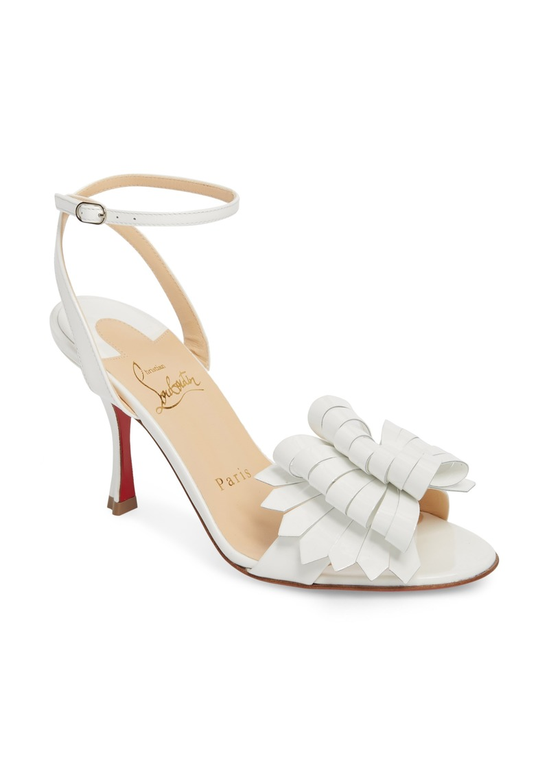 28b6797430b Christian Louboutin Christian Louboutin Miss Valois Bow Ankle Strap ...