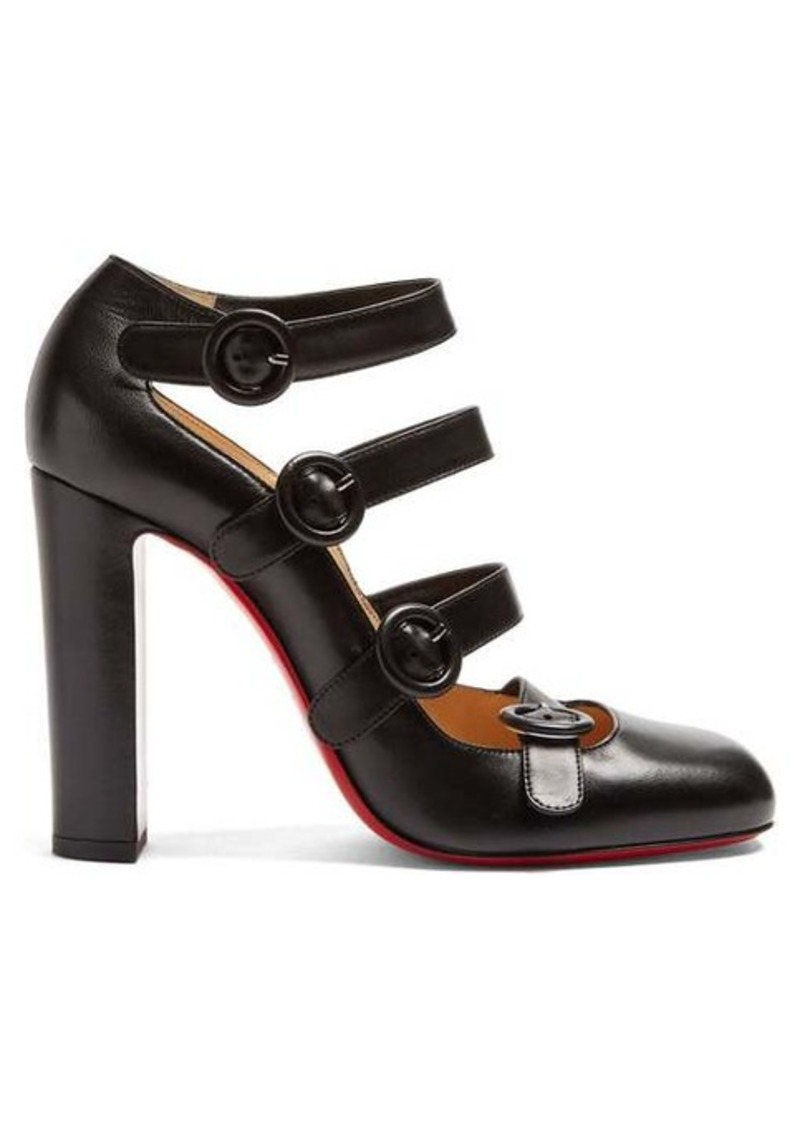 Christian Louboutin Mistiroir 110 leather pumps