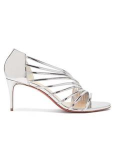 Christian Louboutin Norina 70 metallic-leather sandals