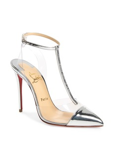 Christian Louboutin Nosy Crystal Embellished T-Strap Pump (Women) (Nordstrom Exclusive)