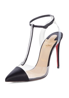 Christian Louboutin Nosy Jewel Embellished T-Strap Pump (Women)